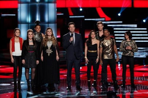 Teams Usher and Adam Make A Stand On The Voice This Week!