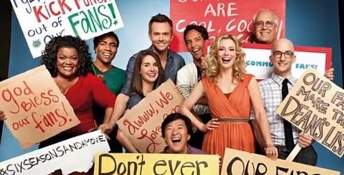 NBC Renews Community for a Fifth Season!!!