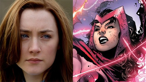 Saoirse Ronan Rumored For Scarlet Witch!