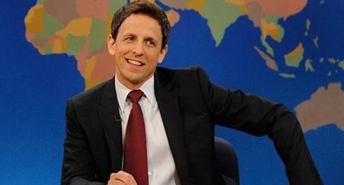 SNL's Seth Meyers Is Officially Taking Over Late Night!