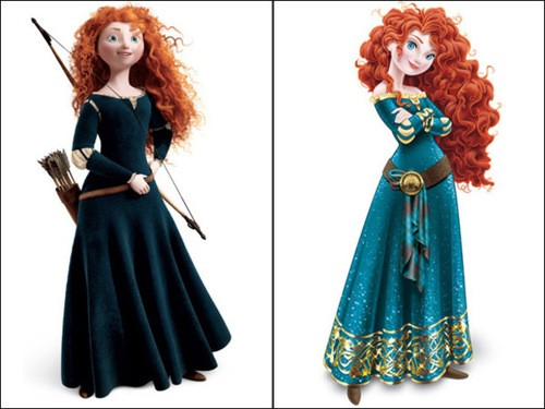 Disney Responds To Princess Merida's Makeover Controversy!