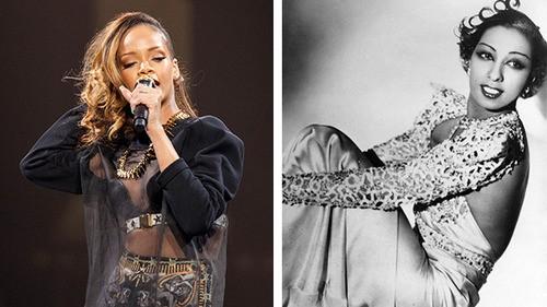 Rihanna In Talks to Portray Entertainment Legend Josephine Baker!