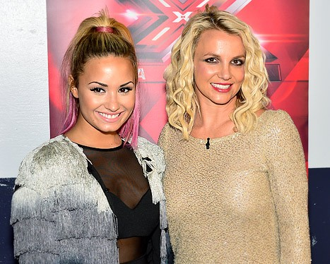 Demi Lovato Wants Britney to Return to X-Factor!