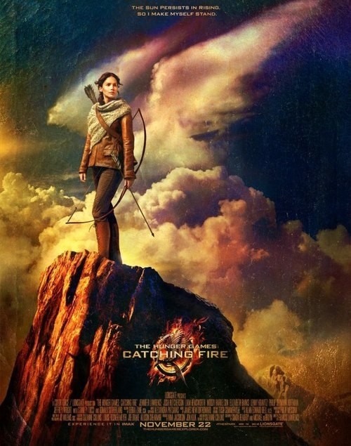 Attention Tributes: A New Catching Fire Poster Has Been Released!
