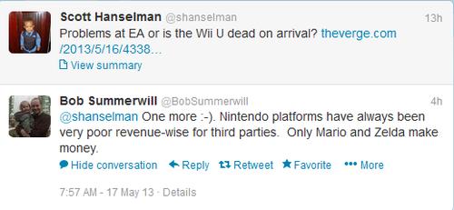 EA Talking Trash About Nintendo?