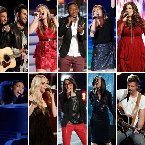 The Top 10 Hit the Stage On The Voice: Who Blew Us Away?