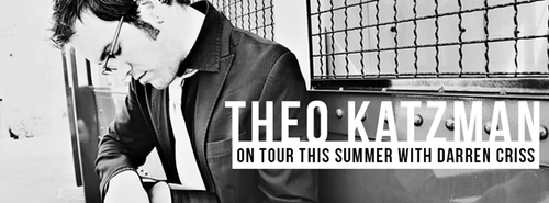 Darren Criss Announces His Opening Act For His Tour: Theo Katzman!