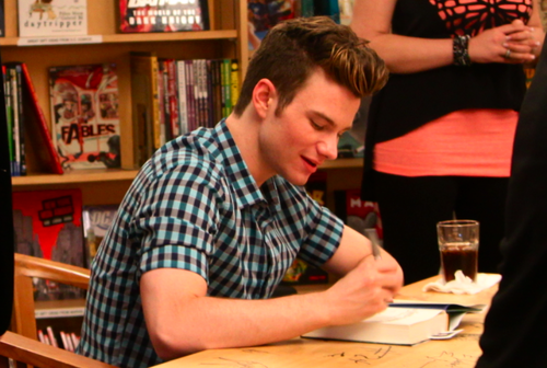 Chris Colfer Announces His First UK Book Signing!