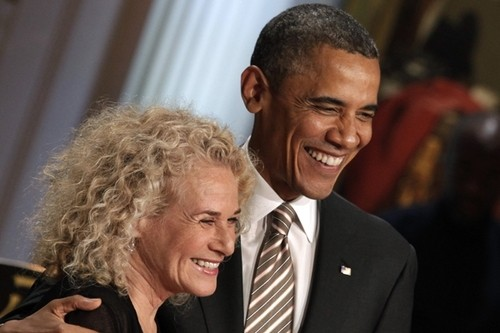 Congrats: Carole King Becomes First Woman to Receive Gershwin Prize!