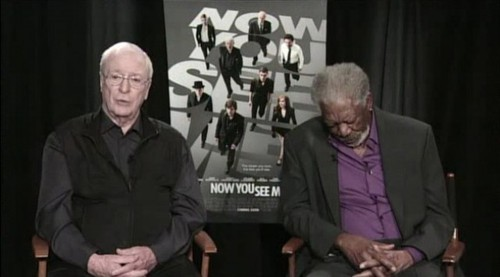 Morgan Freeman's On-Air Naptime!