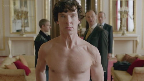 Benedict Cumberbatch's Lost Fanservice Moment in