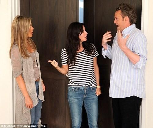 A Mini 'Friends' Reunion Surprises 'Ellen' Fans