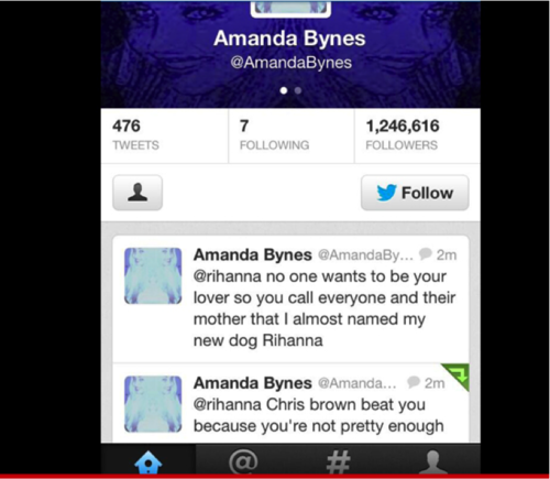 Amanda Bynes Goes after Rihanna!