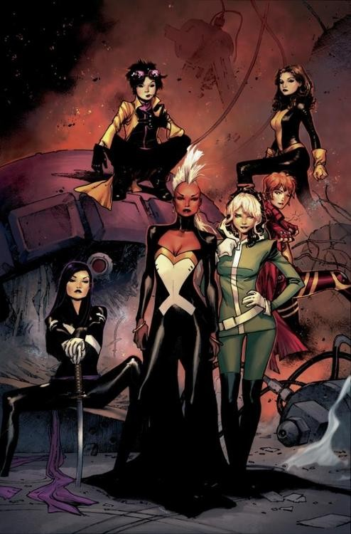 Girl Power Takes Over 'X-Men' Title!