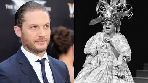 The Dark Knight Rises' Tom Hardy As Sir Elton John? It's A Possibility!