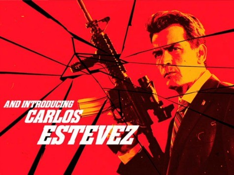 Check Out Our New President: Charlie Sheen - Only in Machete Kills!