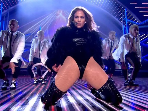 Jennifer Lopez Bares All At Britain's Got Talent