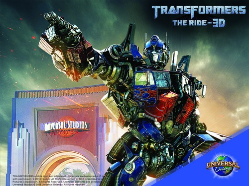 The Autobots are Unleashed in Universal Studios Orlando's New Ride!