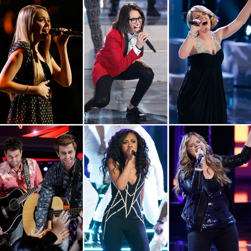 The Top 6 Rock the Stage on The Voice: Who Stole The Show?