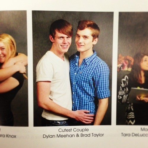 Teen Gay Couple Wins 'Cutest Couple' At Their High School!
