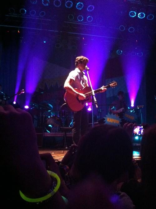 Listen Up Tour: Darren Criss Takes Downtown Disney H.O.B!