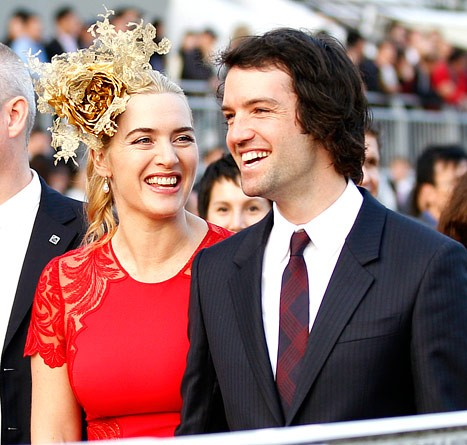 Oscar winner Kate Winslet's got a bun in the oven...again!