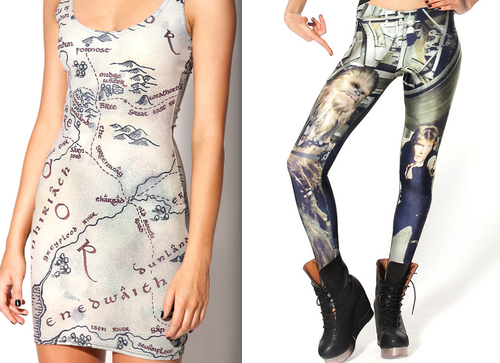 Black Milk to Release Harry Potter 'Maurader's Map' Clothing!