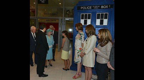 The Companion Meets the Queen