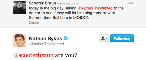 The Wanted's Nathan Sykes Returns!!!