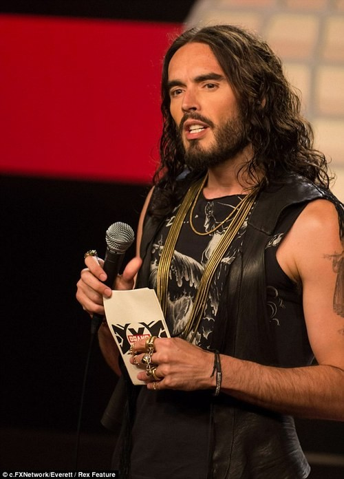 Russell Brand's Brand X Gets Canceled Due to Tasteless Jokes!