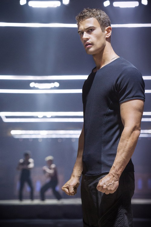 Theo James Makes a Stand In New Divergent Film Photo!