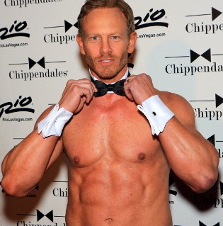 Dancing With The Stars' Ian Ziering Is Now a Chippendale Dancer!