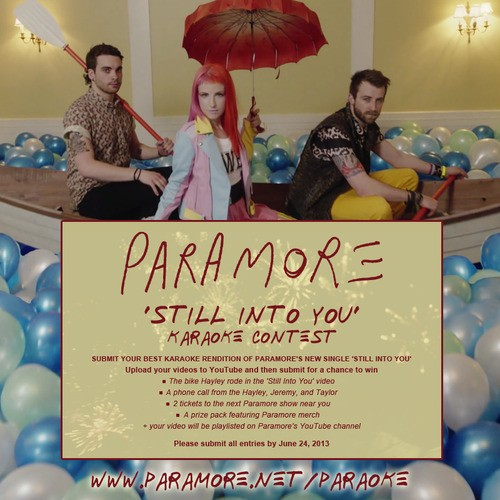 Paramore Holding A Karaoke Contest To Win Hayley Williams' Bike!