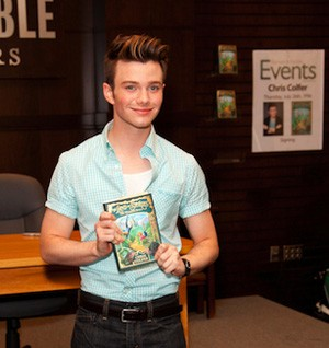 Latest Information On The Chris Colfer UK Book Signing!