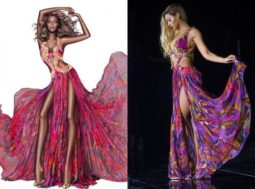 Roberto Cavalli Erases Queen Beyonce's Curves!