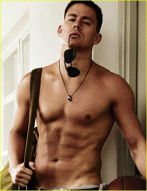 Channing Tatum Says He Wants To Be Like Jennifer Lawrence!
