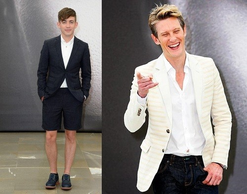 Kevin McHale and Gabriel Mann Look Dapper in Monte Carlo