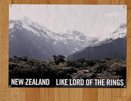 '100% Middle Earth, 100% Pure New Zealand.'
