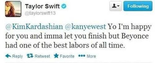 False Alarm, People - Taylor Swift Did NOT Diss Kimye Via Twitter!