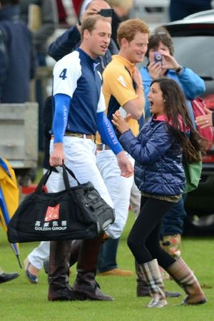 Fan Freak Out! The Royal Brothers Playing Polo!