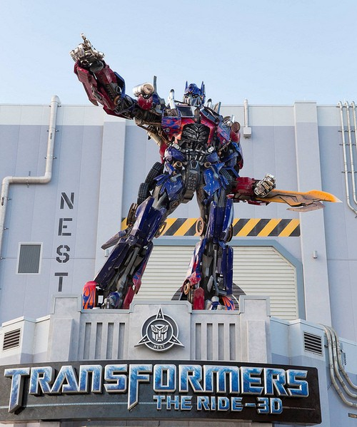 TRANSFORMERS: The Ride-3D (GRAND OPENING) EXCLUSIVE Details!