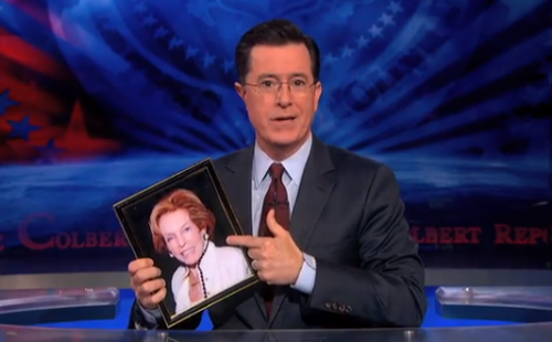 Stephen Colbert Pays Tribute To Late Mother