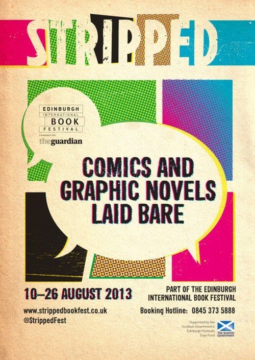 Stripped Comic & Graphic Novel Festival Line Up Announced!