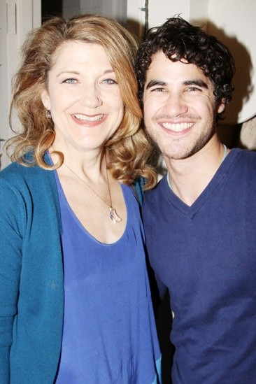 Too Much Perfection In One Place! Darren Criss Visits Broadway Again!