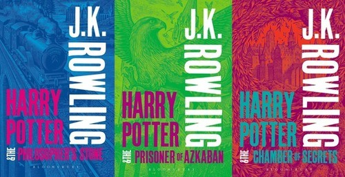 Harry Potter's Iconic Book Covers Replaced By Bright New Design!