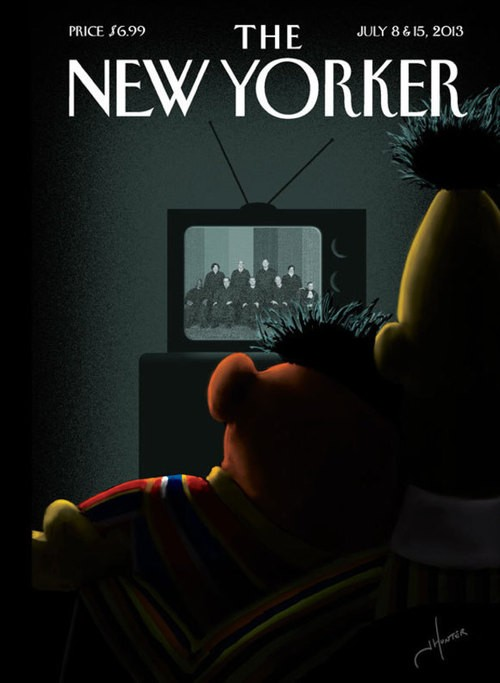 Sesame Street's Bert & Ernie Celebrate LGBTQ Victories In New Photo!