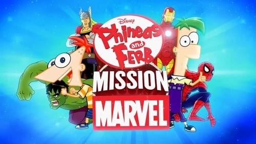 Phineas and Ferb To Host First Disney/Marvel Crossover