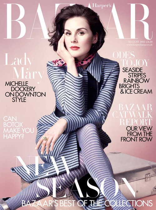 Michelle Dockery: What's Next For Lady Mary & Staying Sane!