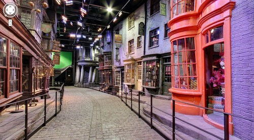 Potter Fans Rejoice! Real Diagon Alley Included In Google Street Maps!