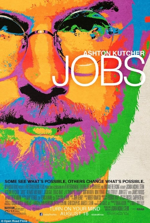 New Jobs Poster Has Been Released and It Is Totally Psychedelic